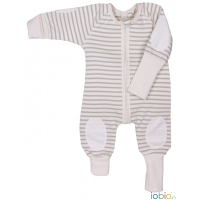 Overall Comfy W-free™ Sand-Natur gestreift