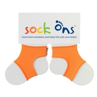 Sock ons Sockenhalter orange