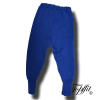 Leggings aus Wolle blau